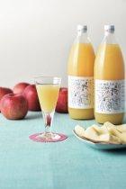 他の写真1: 完熟サンふじりんごジュース 1リットル×6本入り