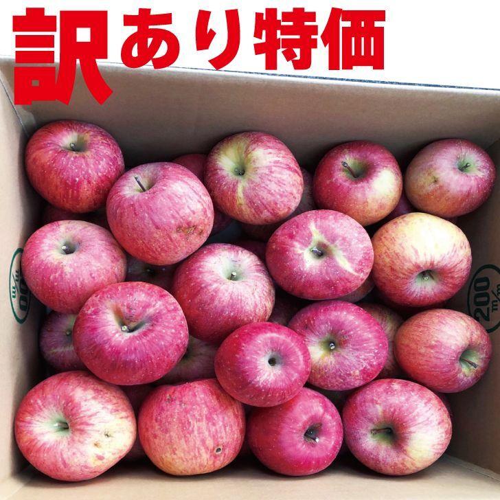 訳アリりんごを数量限定販売致します!